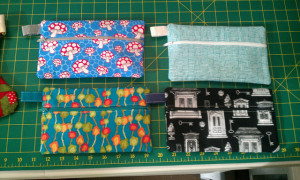 Christmas 2012 Giftings - Zipper Pouches