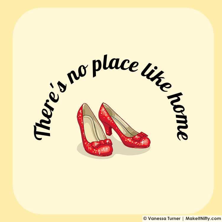 there s no place like home Cover your body with amazing theres no place like home t-shirts from zazzle search for your new favorite shirt from thousands of great designs.