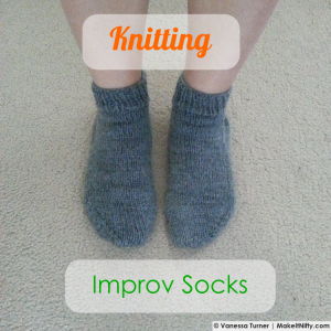 Make It Nifty-Improv Socks-Title