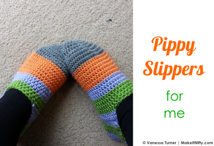 Make It Nifty - Pippy Slippers for me - cover image