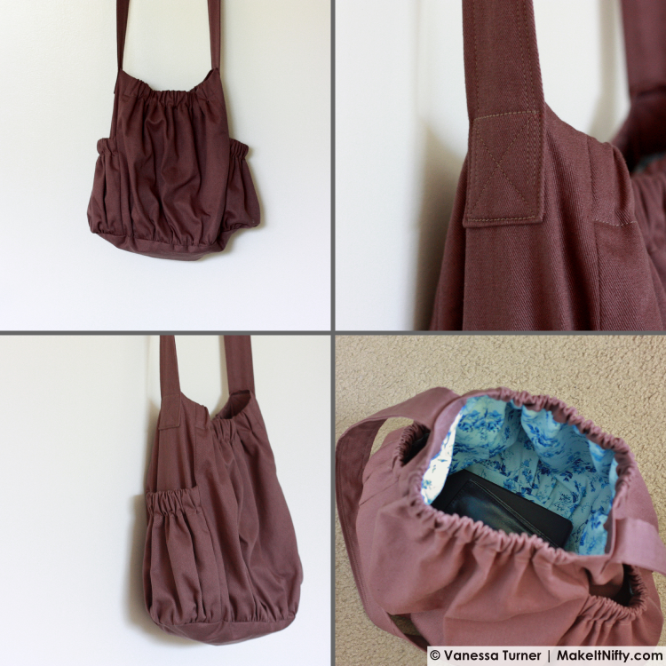 Make It Nifty- The BurdaStyle Sewing Handbook-Bag -details