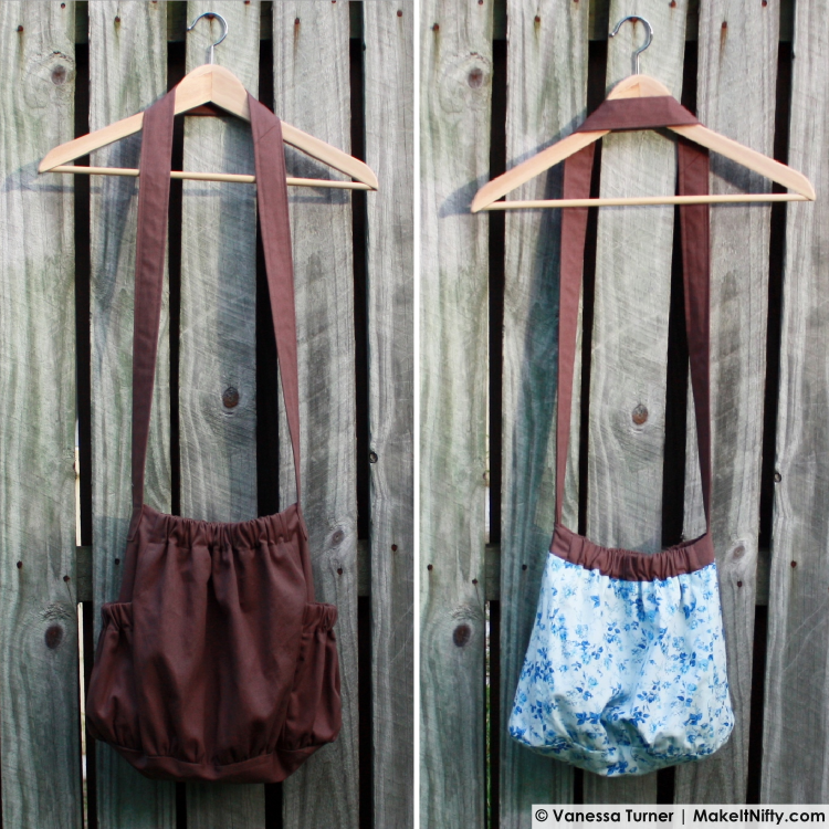 Make It Nifty- The BurdaStyle Sewing Handbook-Bag -outside&inside